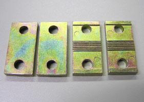 ダイカストを亜鉛メッキ+クロメート(化成処理)処理した部品
